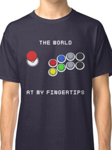 The World At My Fingertips Classic T-Shirt
