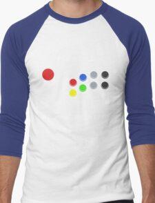 The World At My Fingertips Men's Baseball ¾ T-Shirt