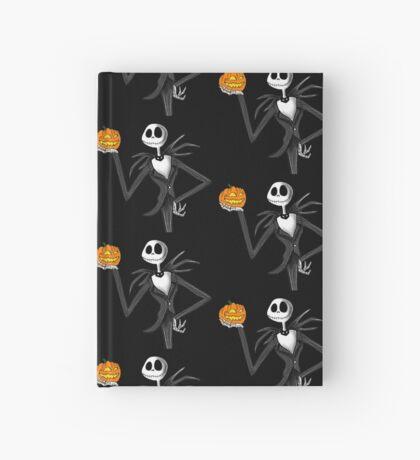 Jack Skellington and his pumpkin Hardcover Journal