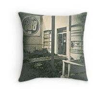 688 Club - Spring Street - Atlanta - 1980 Throw Pillow