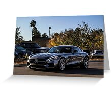 Mercedes AMG GT Greeting Card