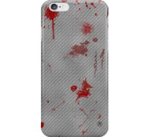 Blood and Metal iPhone Case/Skin