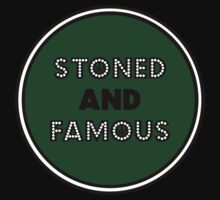 Stoned & Famous Back Logo by stonedandfamous