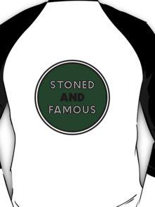 Stoned & Famous Back Logo T-Shirt