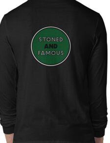 Stoned & Famous Back Logo Long Sleeve T-Shirt