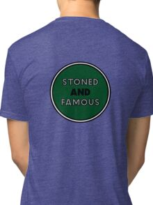 Stoned & Famous Back Logo Tri-blend T-Shirt