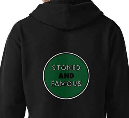 Stoned & Famous Back Logo Pullover Hoodie