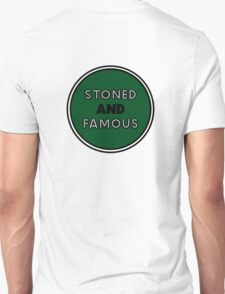 Stoned & Famous Back Logo T-Shirt