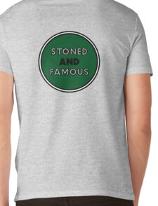 Stoned & Famous Back Logo Mens V-Neck T-Shirt