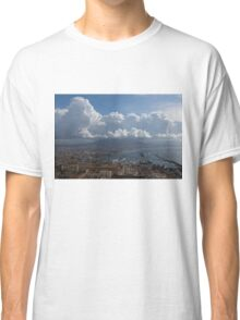 Cruising Into the Port of Naples, Italy Classic T-Shirt
