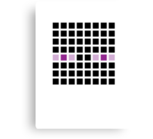 PIXEL8 | It's The End Man Canvas Print