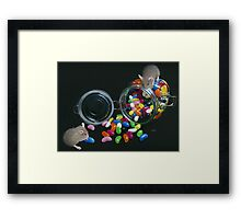 Full o' Beans Framed Print