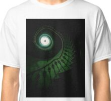 Spiral staircase in green tones Classic T-Shirt