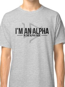 alpha in the alpha pack Classic T-Shirt