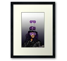 COOL DOWN - SLASH Framed Print
