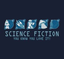 Sci Fi Icons Kids Clothes