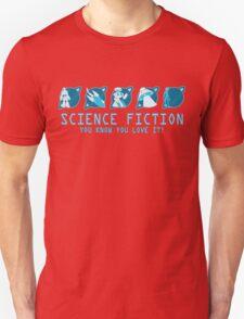 Sci Fi Icons Unisex T-Shirt