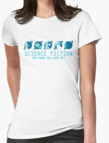 Sci Fi Icons Womens Fitted T-Shirt