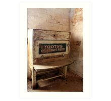 Tooth's Draught Beer. Art Print