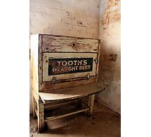 Tooth's Draught Beer. Photographic Print