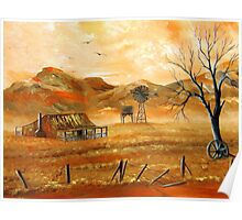 Outback Living Poster