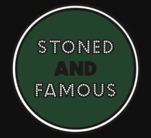 Stoned & Famous Front Logo by stonedandfamous