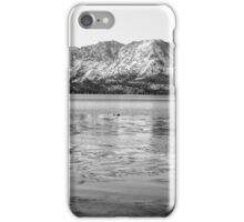Winter on Lake Tahoe iPhone Case/Skin