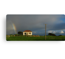 A Treasure at the End of a Rainbow Canvas Print