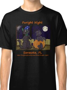 Wizard and Pumpkin - Art by Greykitty Classic T-Shirt