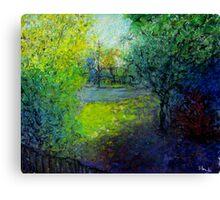 front yard shade Canvas Print