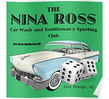 Nina Ross Car Wash and Gentlemen's Club Poster