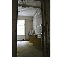 Abandoned asylum. Old Lier Mental Hospital, Norway. Built 1921, closed 1985. Photographic Print