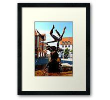 Erostischer Brunnen by Peter Mueller Framed Print