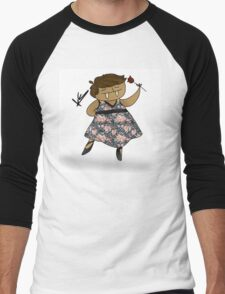 pretty walrus Men's Baseball ¾ T-Shirt