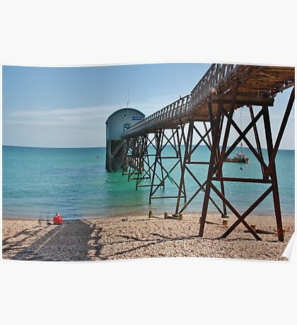 Selsey Lifeboat Pier #1 Poster