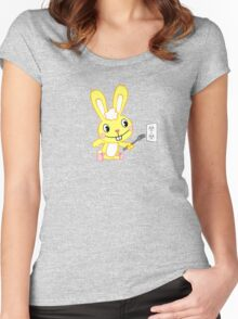 Happy Tree Friends - T-Shirt - Cuddles. Women's Fitted Scoop T-Shirt