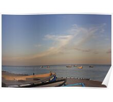 Evening Sky - Selsey #1 Poster