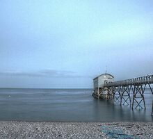 Selsey Lifeboat Pier HDR by Matthew Floyd