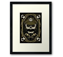 Dead Plumber - Prints, Stickers, iPhone and iPad Cases Framed Print