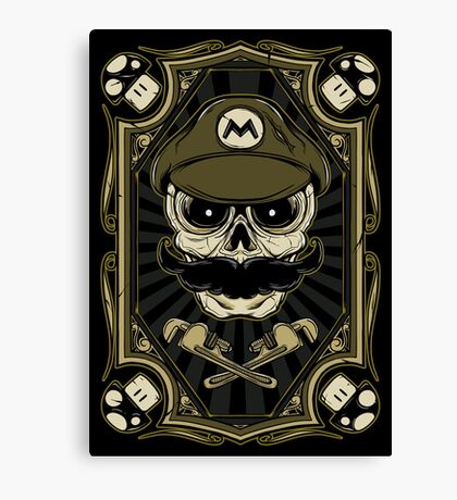 Dead Plumber - Prints, Stickers, iPhone and iPad Cases Canvas Print