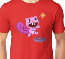 Happy Tree Friends - T-Shirt - Toothy Butterfly. Unisex T-Shirt