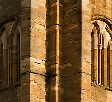 ELGIN CATHEDRAL - BANDS OF SHADOW by JASPERIMAGE