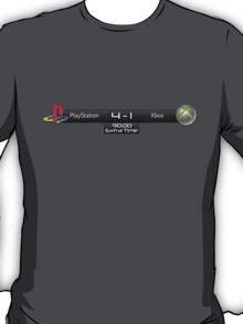 PS4 vs XBOX One Scoreboard T-Shirt
