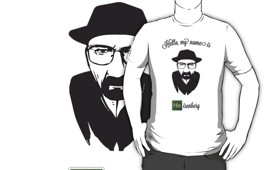 Hello Heisenberg by Nomies