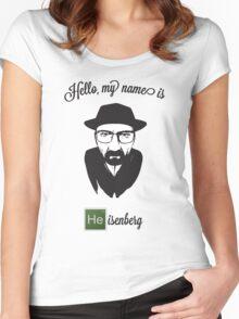 Hello Heisenberg Women's Fitted Scoop T-Shirt