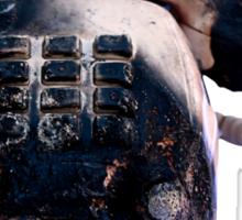 Burnt Telephone by Zorro Gamarnik Sticker