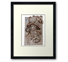 Gold Phone by Zorro Gamarnik Framed Print