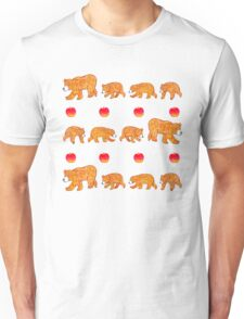 Hungry bear family Unisex T-Shirt