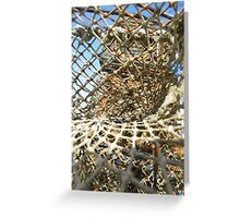 Cley Beach Crabpots Vortex  Greeting Card