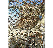 Cley Beach Crabpots Vortex  Photographic Print